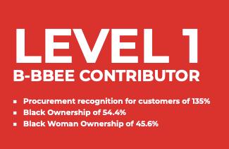 Level 1 B-BBEE